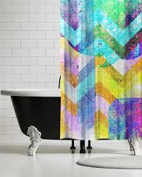 boho modern shower curtain retro shower curtains ubu republic