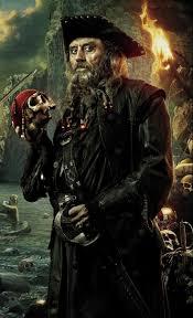 blackbeard pirates of the caribbean captain blackbeard edward