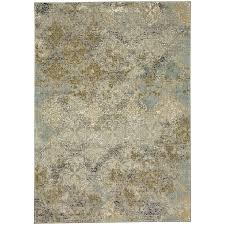Karastan Area Rugs Touchstone Moy Willow Gray Rectangular 8 Ft X 11 Ft Area Rug
