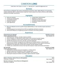 manager resume objective examples human resource management sample resume examples of retail example hr resume objective examples basic manager statement of manager resume