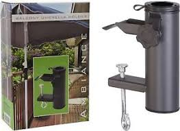 sonnenschirmhalter balkon metall balkon sonnenschirm halter klemme schirmständer zaun