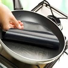 poele pour cuisiner feuille de cuisson pour poêle antiadhésive panda kitchen
