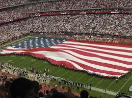 Houston Texans Flags Sept 11 2011 Show At Houston Texans Football Game