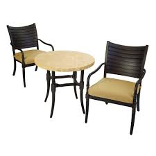Hampton Bay Andrews 7 Piece Patio Dining Set - hampton bay patio cushions 1927