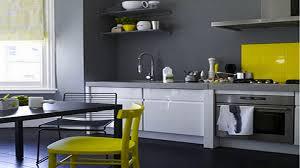 couleur actuelle pour cuisine ophrey com decoration cuisine jaune gris prélèvement d