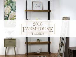 Farmhouse Trends What s In for 2018 American Art Décor