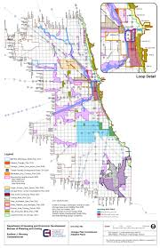Map Chicago Metro by City Of Chicago Land Use Planning And Policy