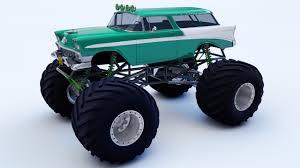 monster trucks drawings 1956 nomad monster truck by samcurry on deviantart
