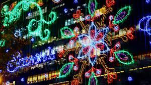Christma Lights Lighting In Hong Kong 2016