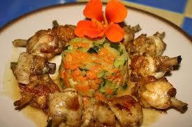 cuisiner pilon de poulet recette de pilons de poulet marinés au curry petits légumes la