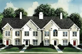 4 unit townhouse plan 83125dc architectural designs house plans