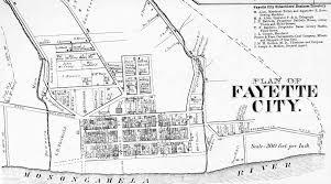 Pennsylvania City Map by Fayette County Pennsylvania Maps 1872