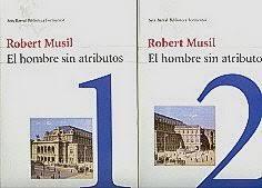 Portada de la edición española de El hombre sin atributos