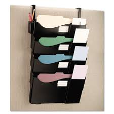 wall mounted filing system 25 practical office organization ideas