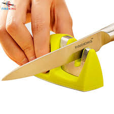sharpening kitchen knives with a stone aliexpress com buy findking knife sharpener for two stages