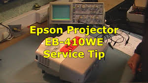 epson projector eb 410we service tip youtube