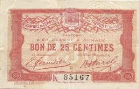 chambre du commerce angouleme ธนบ ตร 25 centimes ฝร งเศส chambre de commerce and villes