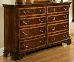 American Woodcrafter Woodcrafters Wellington Manor 8 Drawer Triple Dresser In Rich