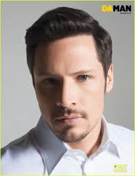 Men Hairstyle Magazine by Shirtless Nick Wechsler Flashes Abs For U0027da Man U0027 Magazine Photo