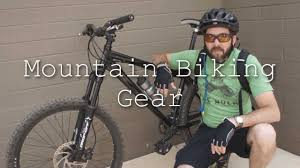 bike riding gear mountain biking gear youtube