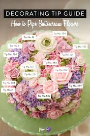 A Garden Of Flowers by Best 25 Buttercream Flower Cake Ideas On Pinterest Flower Cakes