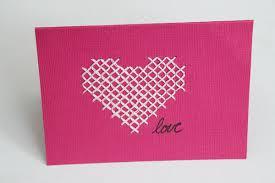 cross stitch card 30 minute crafts