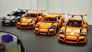 lego technic porsche 911 gt3 rs sm1995 u0027s content eurobricks forums