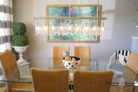 dining room crystal chandeliers dining room great linear chandelier dining room modern linear