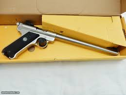 ruger mark ii 10 inch target ss in the box