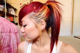 Color Dye For Dark Hair 43 Blonde And Brown Hair Color Ideas Brown With Dip Dye Hair