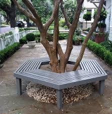 Bench Around Tree Plans Bench Elegant Around Tree Pertaining To Invigorate Picnic A Diy