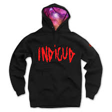 indicud nebula hoodie on the hunt
