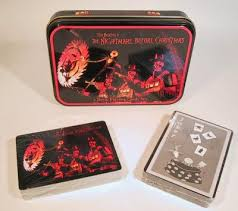 set of 2 decks of nightmare before cards from
