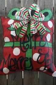 best 25 burlap door hangers ideas on burlap door