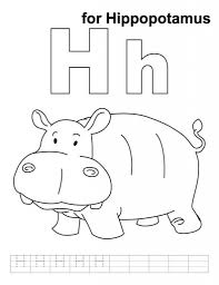 letter h coloring page 100 images outstanding letter coloring