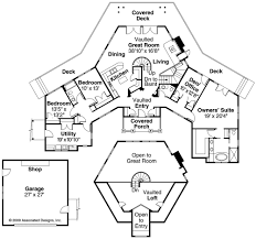intriguing craftsman style hexagon home architecture pinterest