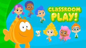 bubble guppies classroom play nick jr uk
