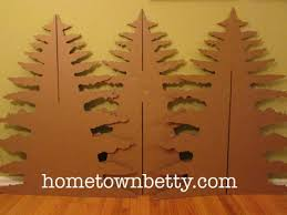 tutorial diy six sided cardboard christmas tree