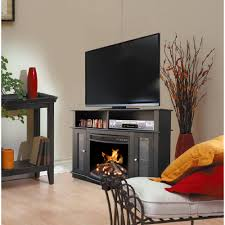 Electric Media Fireplace D U0026eacute Cor Flame Pinnacles 52