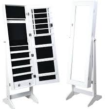 standing mirror jewelry cabinet standing mirror jewelry armoire stand full length box archives and