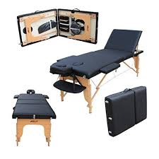 Professional Massage Tables H Root Large Deluxe 3 Section Lightweight Portable Massage Table
