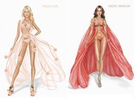 revealed victoria u0027s secret show costumes beauty and the dirt
