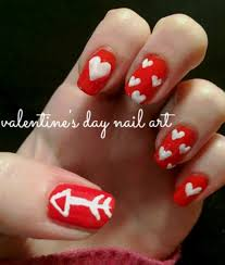 nail art tutorial easy valentine u0027s day nails college fashion