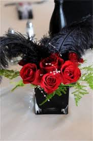Red Roses Centerpieces Silk Flowers By Jean Centerpiece U0026 Aisle Decoration