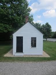 relaxshacks com a tiny white historical cobbler house in