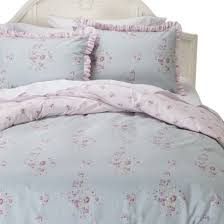 simply shabby chic faded paper rose duvet cover set this