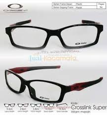 Jual Kacamata Oakley Crosslink jual kacamata frame oakley crosslink hitam merah jual