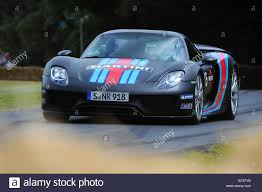 martini porsche 918 goodwood uk 28th june 2014 porsche 918 spyder weissach package