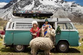 Alaska bus travel images This couple built a van to travel from alaska to argentina jpg