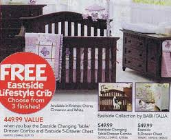 Babi Italia Eastside Convertible Crib Black Friday Deal Babi Italia Eastside 5 Drawer Chest Available
